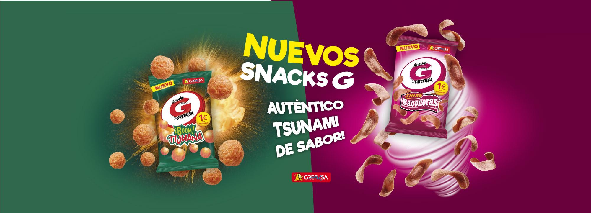 snacks Grefusa