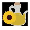 Aceite de oliva y/o girasol